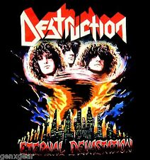 DESTRUCTION cd cvr ETERNAL DEVASTATION Official SHIRT XXL 2X new