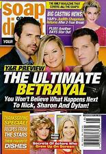 Young & the Restless, Bill/Susan Seaforth Hayes  Nov. 28, 2016 Soap Opera Digest