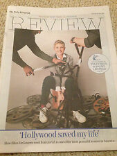 TELEGRAPH REVIEW 23 JULY 2016 ELLEN DEGENERES William Eggleston Brian Eno