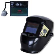Pro Solar Auto Darkening Welding Helmet Arc Tig Mig Grind Mask Power Tips #X LN