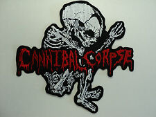 CANNIBAL CORPSE  EMBROIDERED BACK PATCH