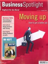 Business Spotlight, Heft 4/2015, Business-Englisch-Magazin +++ wie neu +++