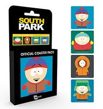 South Park set of 4 cork backed drinks coasters (ge)