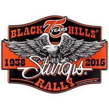 STURGIS RALLY 2015 MOTORCYCLE WALL DECOR Harley Davidson Collectible Black Hills