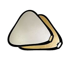 """Vidpro RF-82 32"""" Gold & Silver Reflector Disc Triangular Deluxe Handle + Case"""