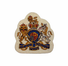 Embroidered Warrant Officer Badge- Cream- Gold Detail - Grade 1  DEMD10