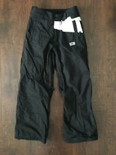 VOLCOM YOUTH MED (10-12) SKI/ SNOW BOARD PANTS BOYS or GIRLS INSULATED BLACK