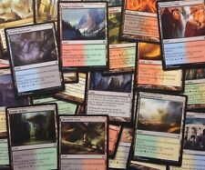 SPECIAL LAND MEGA pack! KHANS DUAL LANDS, GUILDGATES Magic Mtg Bulk Cheap