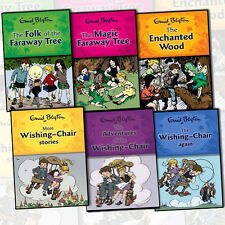 Enid Blyton Wishing Chair and Magic Faraway Tree Series 6 Book Collection SetNew