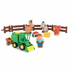 NEW John Deere 1st Farmin' Fun Harvest Time Playset, Ages 12M+  (LP64406)