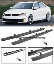 GLI Style Side Skirts Rocker Panel Molding Trim For 11-15 Volkswagen Jetta MK6