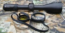 Nikko Stirling diamant 30mm 3-12x56 illuminé no4 dot rifle scope réticule