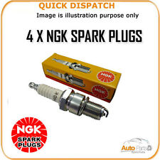 4 X NGK SPARK PLUGS FOR SAAB 9000 2.3 1990- BCPR7ES-11