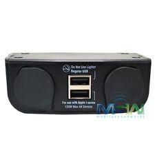 MAGNADYNE DVU-3G2 MULTI-USE VEHICLE CHARGER w/ DUAL USB PORTS & DUAL 12V SOCKETS