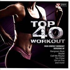 Power Music-Top 40 Workout CD NEW