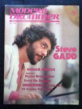Modern Drummer - August 1983 - Steve Gadd