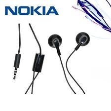 Original Nokia WH-109 Handsfree Headphones Earphones 3.5mm NEW