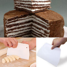 1pc Sugarcraft Fondant Iicing Cream Scrapers Smoother Molds For Cake Cookie Tool