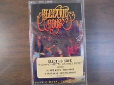 "NEW SEALED ""Electric Boys"" Funk-o-Metal Carpet ride  (G)"