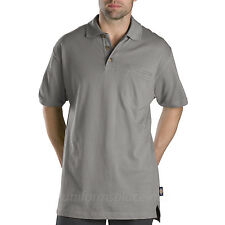 Mens Polo shirts DICKIES SHORT SLEEVE WS449 Moisture Wicking Cotton Pique Polo