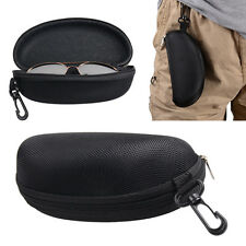 Zipper Hard Eye Glass Case Box Sunglass Protector Travel Fashion with Belt Clip