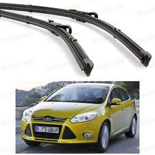 "28"" 28"" 2Pcs Car Windscreen Wiper Blade Bracketless for Ford Focus 2011-2016"