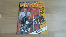 RARE RUSSIAN SONG BOOK MAGAZINE (INC BEATLES SONGS BECAUSE/DON'T LET ME DOWN)