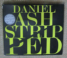 DANIEL ASH AUTOGRAPHED STRIPPED GATEFOLD CD 2014 MINT LOVE ROCKETS BAUHAUS SOLO
