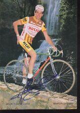 JESUS SUAREZ CUEVA cyclisme ciclismo cp signée HUESO