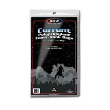 BCW Current Comic Book bags Bulk Sale of 1,000 Bags 1-Cur