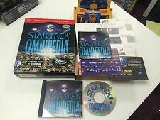 Star Trek Omnipedia for PC Big Box Game Complete