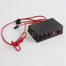 Car/Truck Police LED Strobe Flash Light Flashing Controller Box 4 Ways J01 New