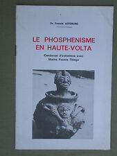 Le phosphénisme en Haute Volga - Dr. Lefebure - Sensations Lumineuses Titinga