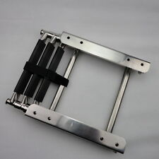 S.S 3-Step Slide Mount Boat Boarding Ladder Telescoping Fishing Ladder