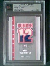 YVAN COURNOYER  ULTIMATE NUMBER GAME-USED JERSEY (JERSEY NUMBER #12/24)***SSP***