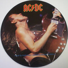 AC/DC, That's The Way I Wanna Rock N Roll, NEW/MINT PICTURE DISC 12 inch single