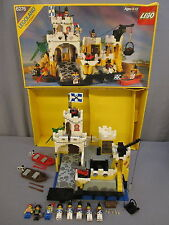 "Lego 6276 Pirate Set ""ELDORADO FORTRESS"" w/Box & Minifigures Vintage 1989"