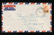 PAPUA NEW GUINEA BIRD 4d SURCHARGE WAU to PORT MORESBY 1957