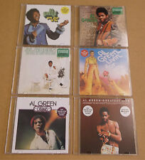 AL GREEN Set of SIX 2013 US promo CDs Belle Album Let's Stay Together