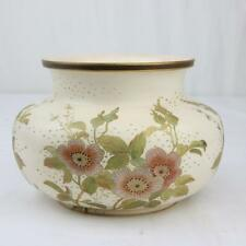 Antique Doulton Burslem Floral Vase Hand Painted Flowers A+ Condition Rare