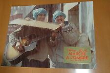 GERARD LANVIN MICHEL BLANC MARCHE A L'OMBRE 1984 VINTAGE PHOTO ORIGINAL PRESTIGE