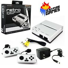New Retro Entertainment System - 8 bit Nintendo NES Game Player - SILVER