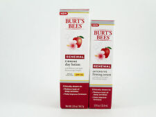 Burt's Bees Renewal Firming Day Lotion 2.0 OZ and Intensive Firming Serum 1.1 OZ