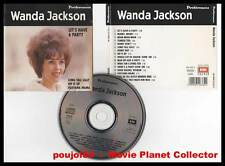 "WANDA JACKSON ""Let's Have A Party"" (CD) Préférences 1991"