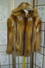 BRAND NEW CANADIAN RED FOX FUR BOMBER JACKET COAT MEN MAN