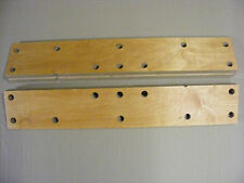 NEW BIRCH PLYWOOD JAWS FOR ORIGINAL BLACK AND DECKER WM325 WORKMATE