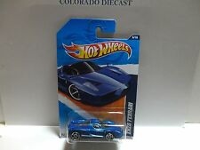 2011 Hot Wheels #116 Blue Enzo Ferrari w/PR5 SPoke Wheels