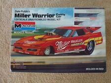 Vintage-Monogram Dale pulde's Miller Warrior Funny Car/Drag Racing/NHRA