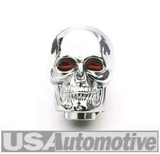 Mr Gasket 9628 - Chrome Skull with Red Eyes Shifter Knob
