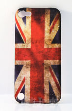 Apple IPOD TOUCH 5 CUSTODIA TPU flessibile Gel BANDIERA INGLESE UNION JACK